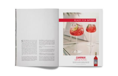 Campari Adverts by Spinach Design