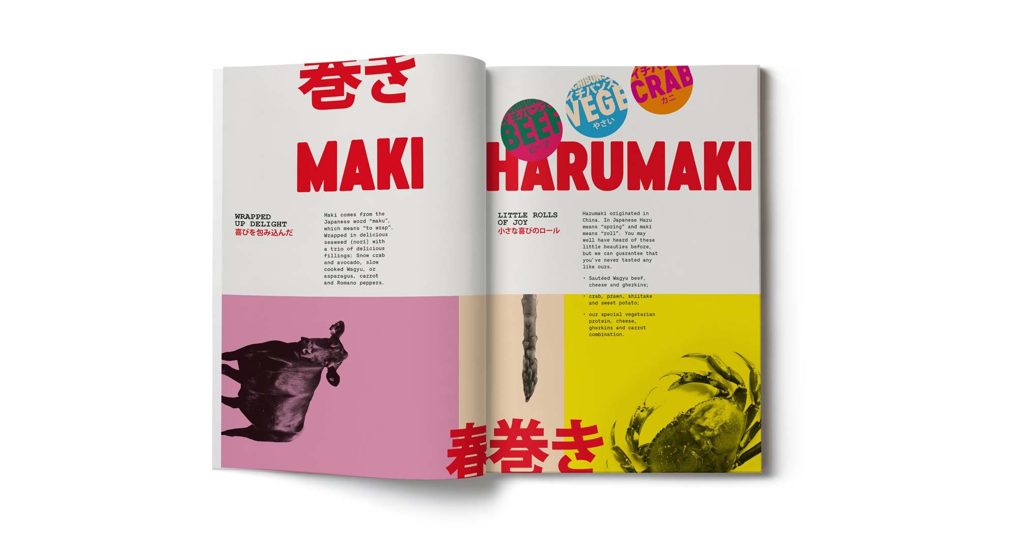 Creating a brand book for Ichibuns, a new Japanese concept restaurant in London