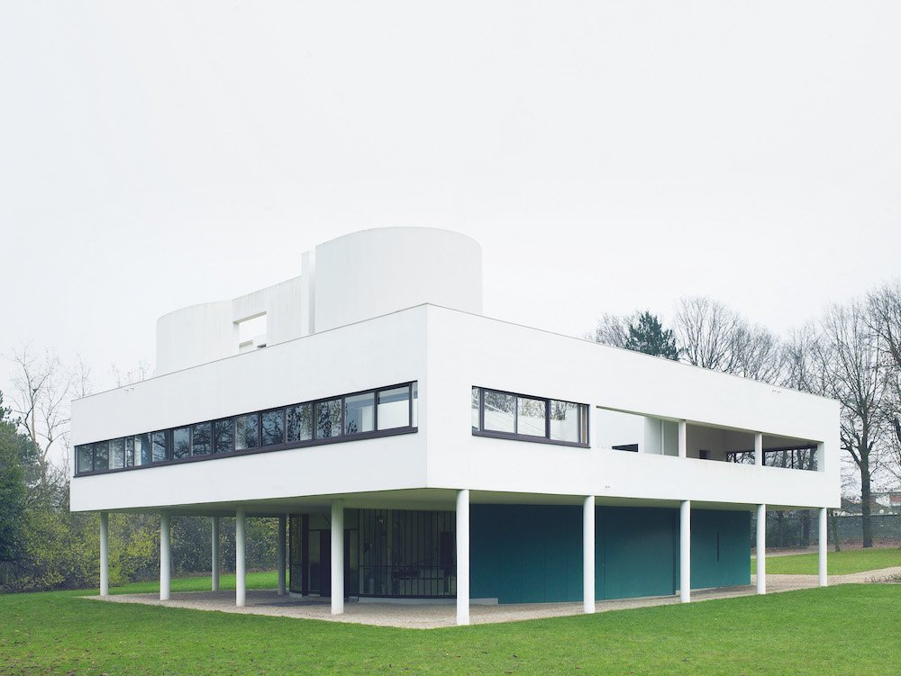 Villa Savoye, Poissy, France, 1931. Le Corbusier (1887-1965) © Richard Powers
