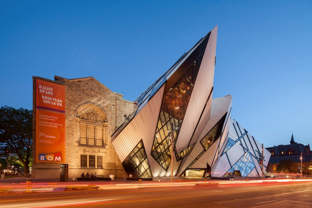Lee-Chin Crystal at Royal Ontario Museum by Studio Daniel © Nikreates/Alamy Stock Photo
