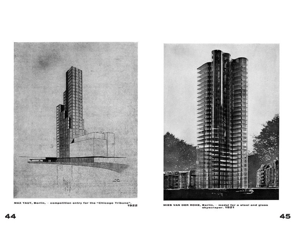 From 'International Architecture' by Walter Gropius, Lars Müller Publishers © Lars Müller
