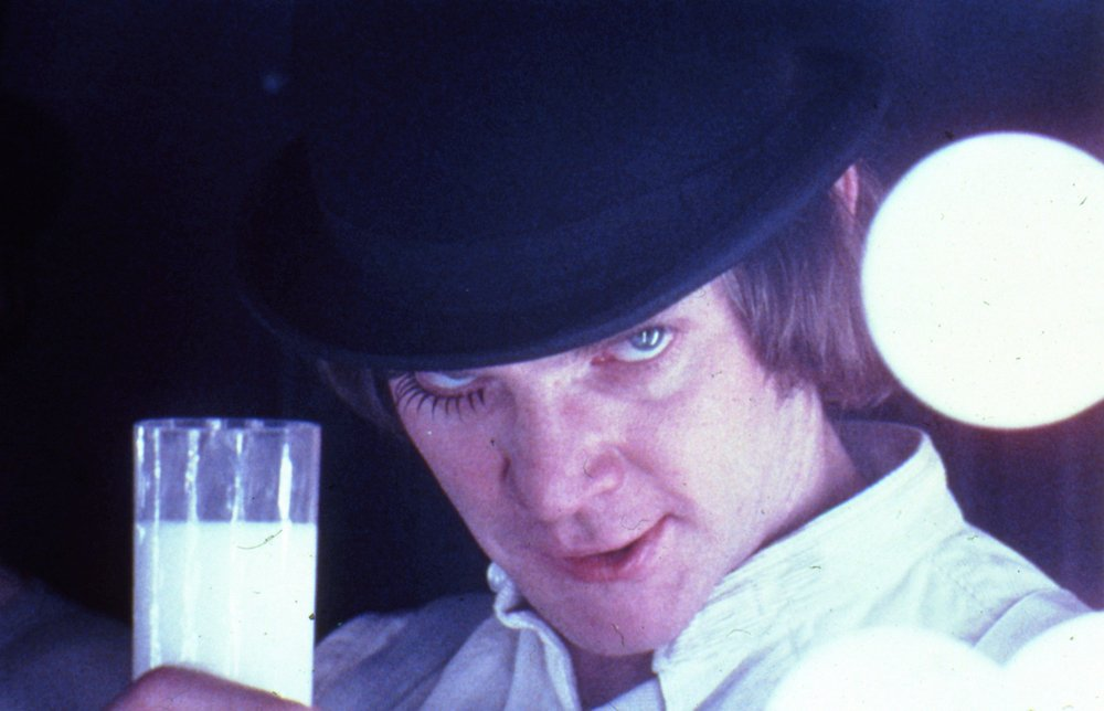 A Clockwork Orange, directed by Stanley Kubrick