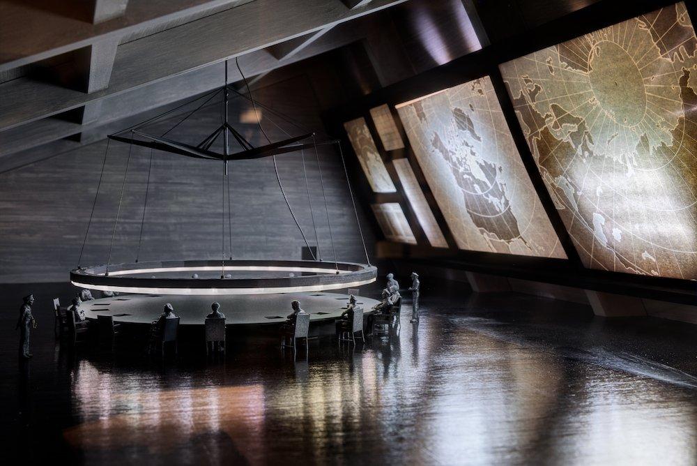 War Room model from Dr. Strangelove