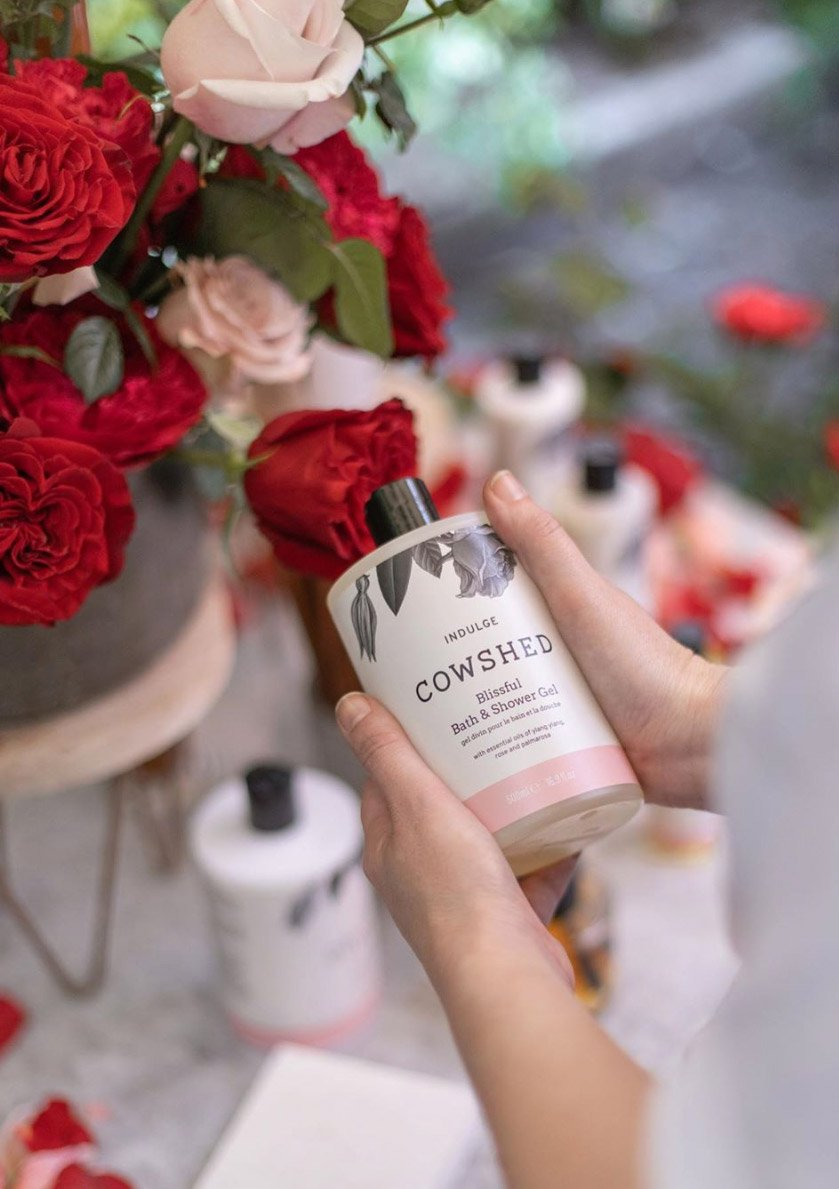 cowshed packaging by spinach