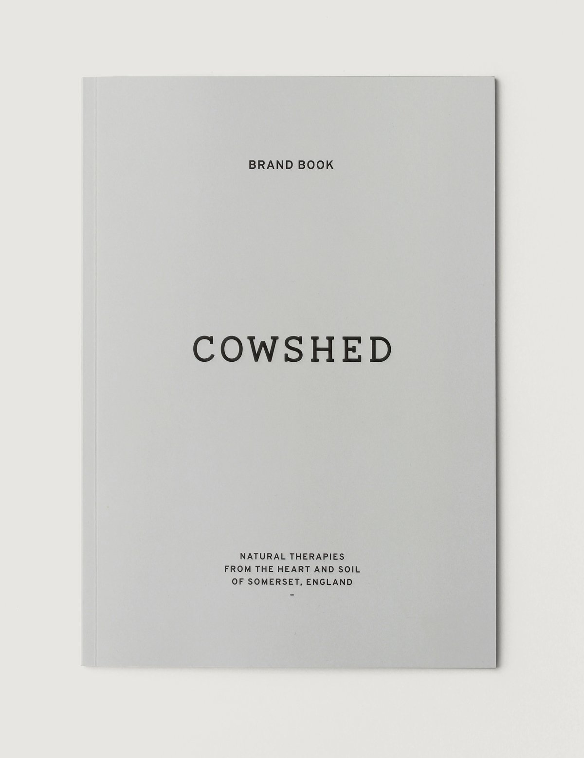 Cowshed Brand Book by Spinach Brand Agency
