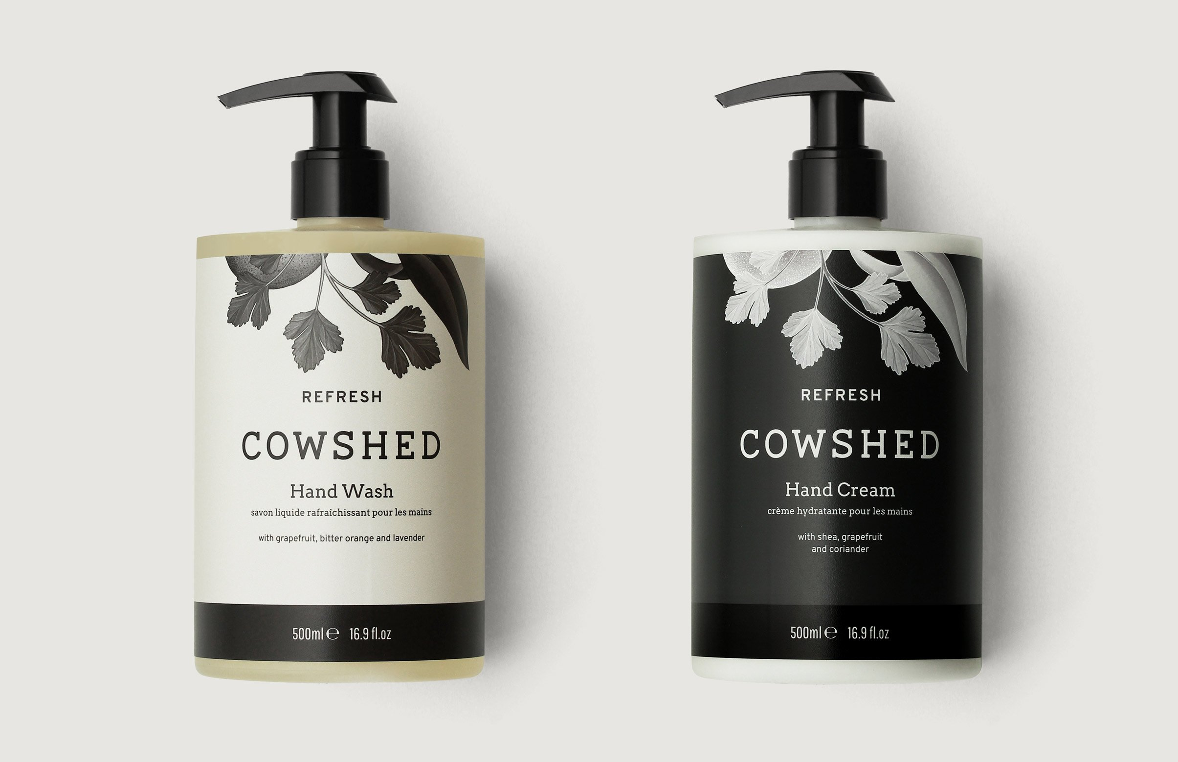 London Rebranding Agency Cowshed