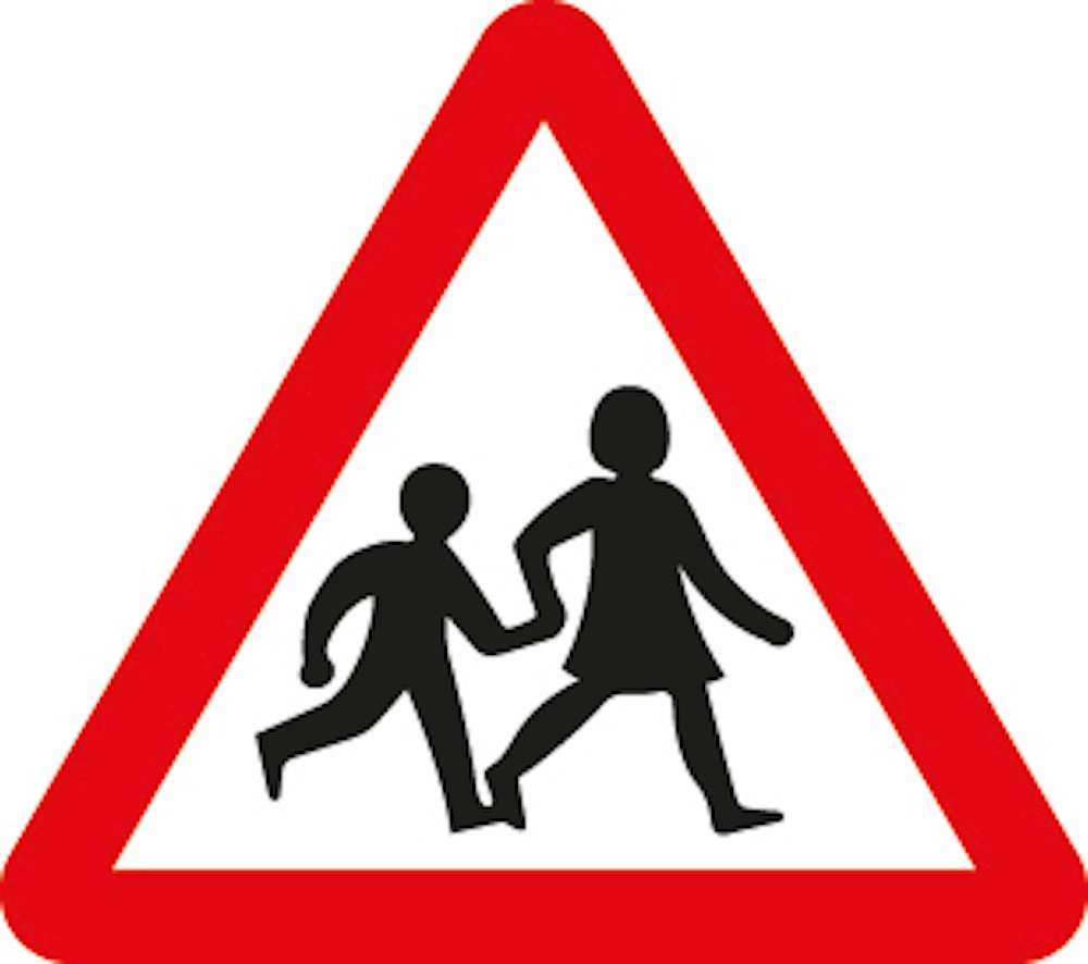 Margaret Calvert 'children crossing' signage 1936 © Crown