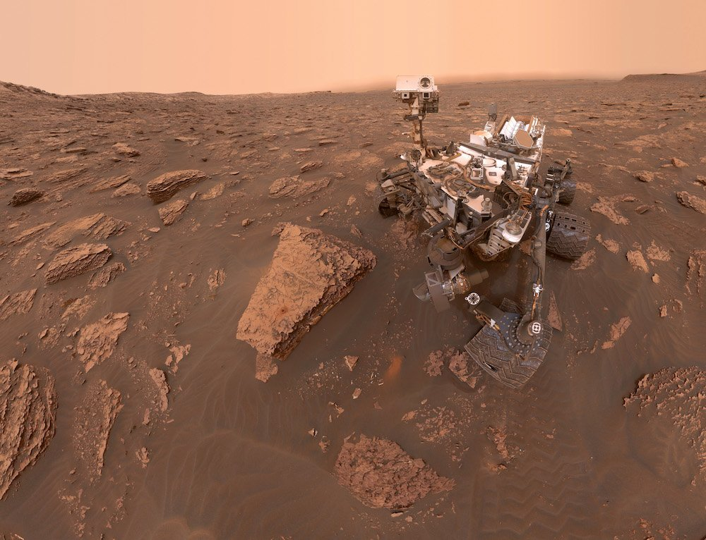 NASA Curiosity Rover on Mars © NASA