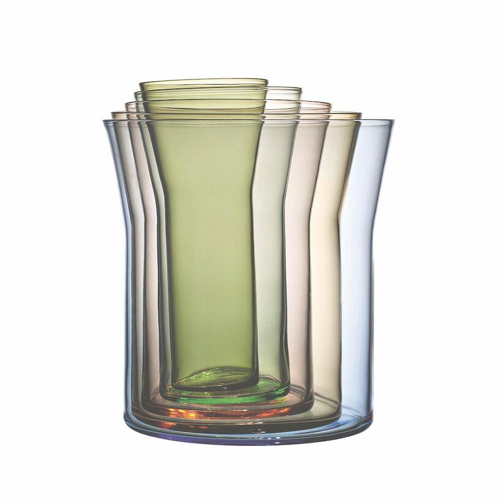 Cecilie Manz Spectra stacking vases © Holmegaard