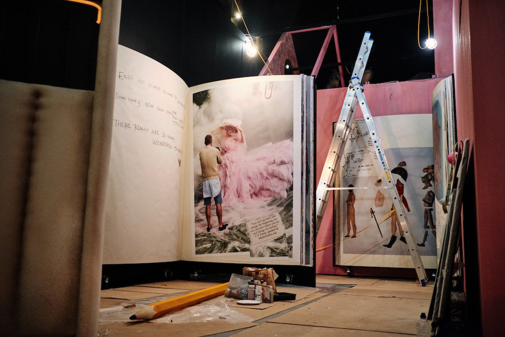 The making of the V&A's Tim Walker Wonderful Things exhibition 2 (c) Jamie Stoker
