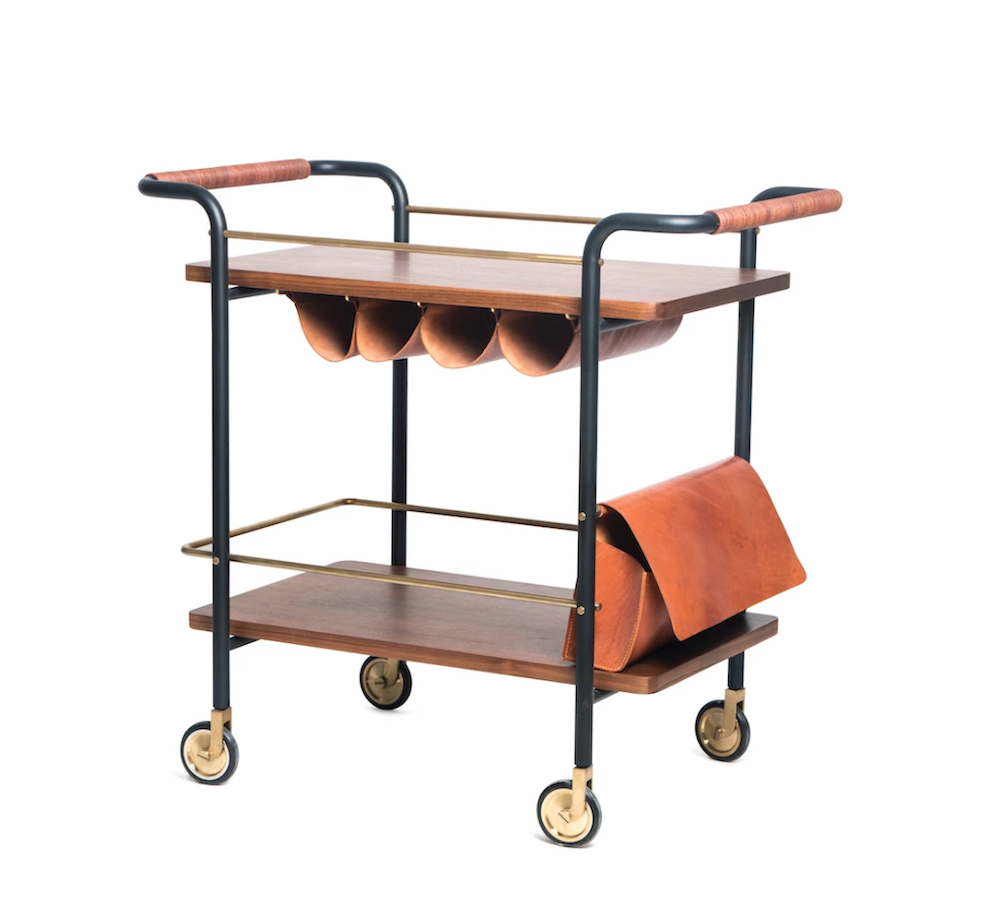 Stellar Works Valet Bar Cart