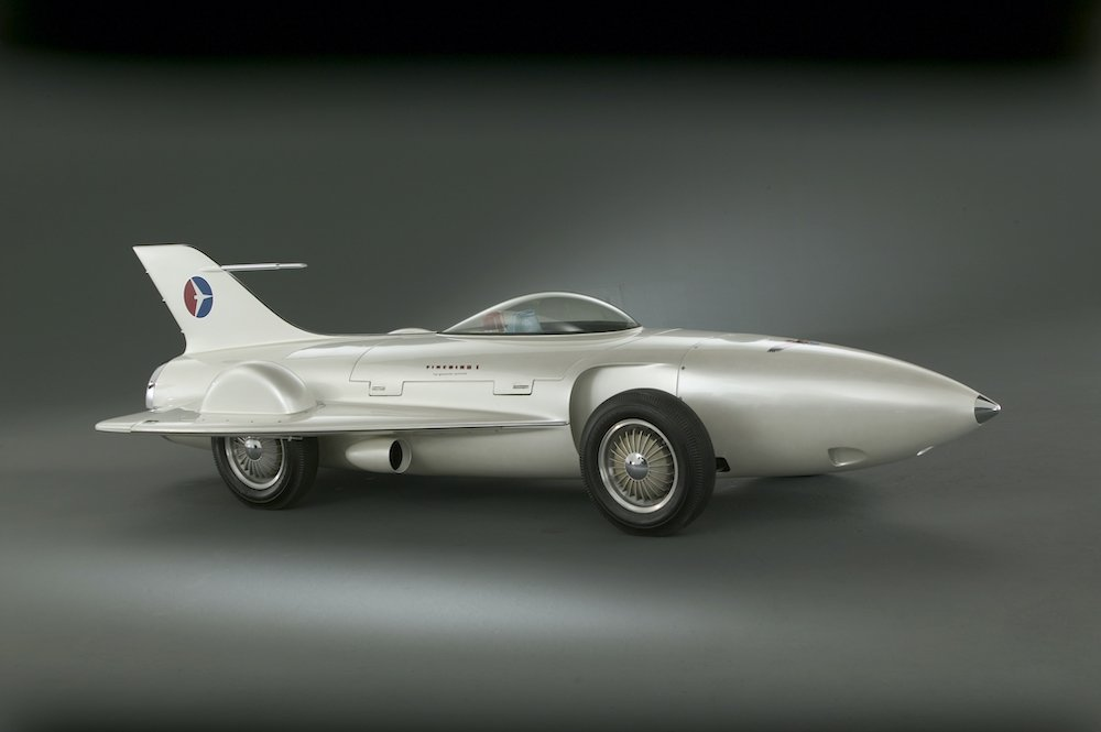 General Motors Firebird I (XP-21), 1953 with its perfectly aero design (c) GM