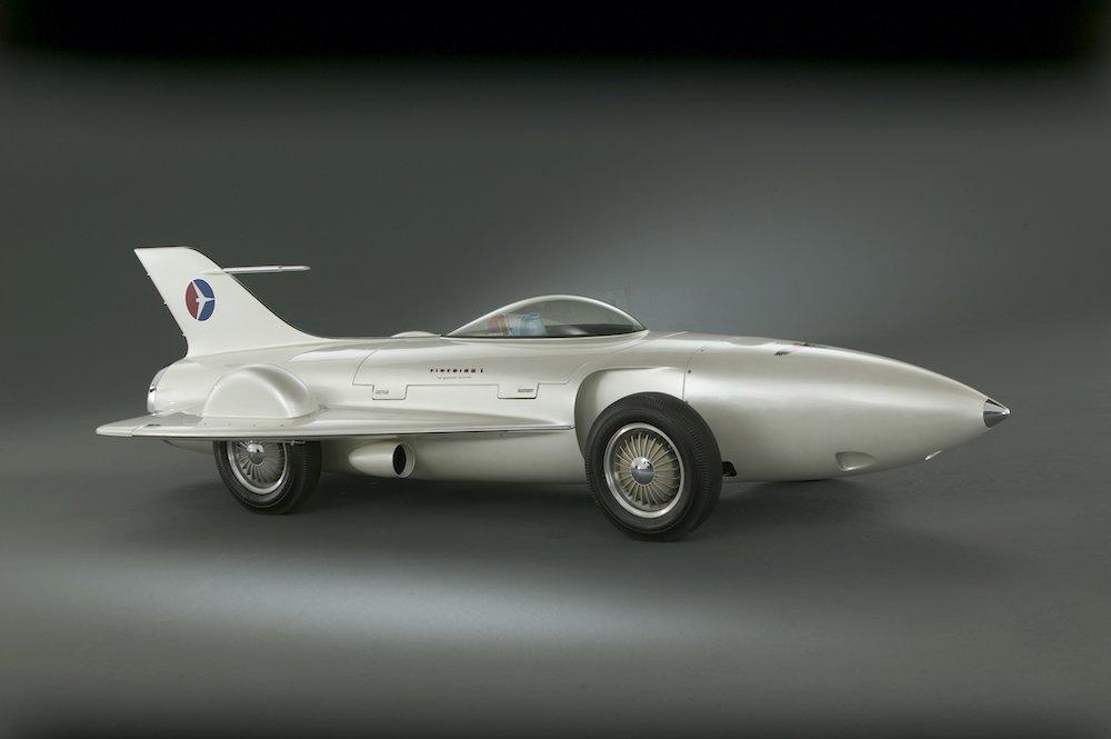 General Motors Firebird I (XP-21), 1953 with its perfectly aero design (c) GM
