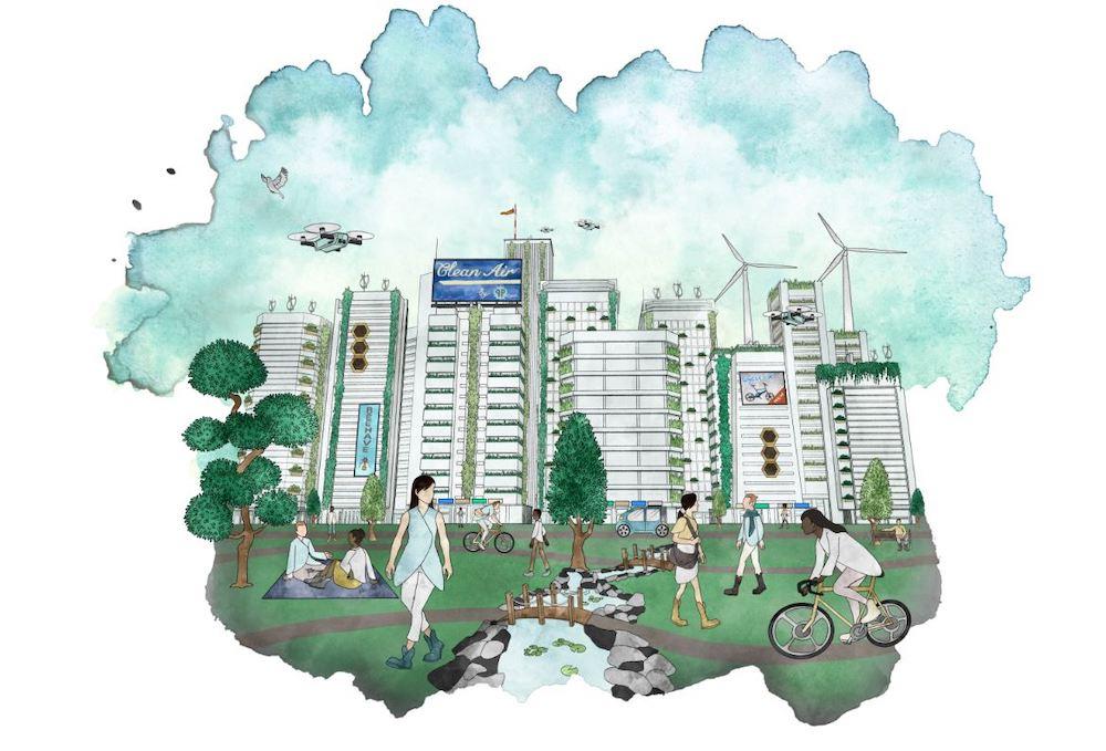 Arup report 2050 Scenarios: Four Plausible Futures, Post Anthropocene