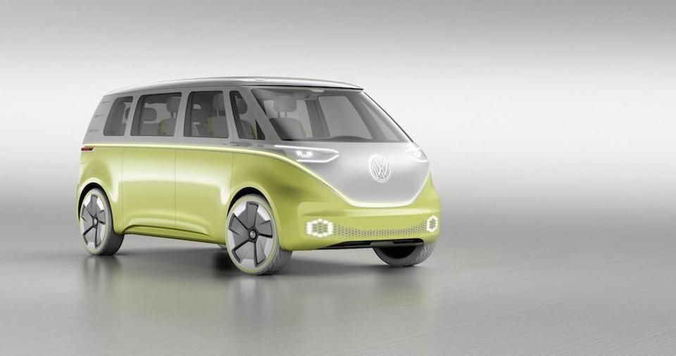 VW ID Buzz electric car