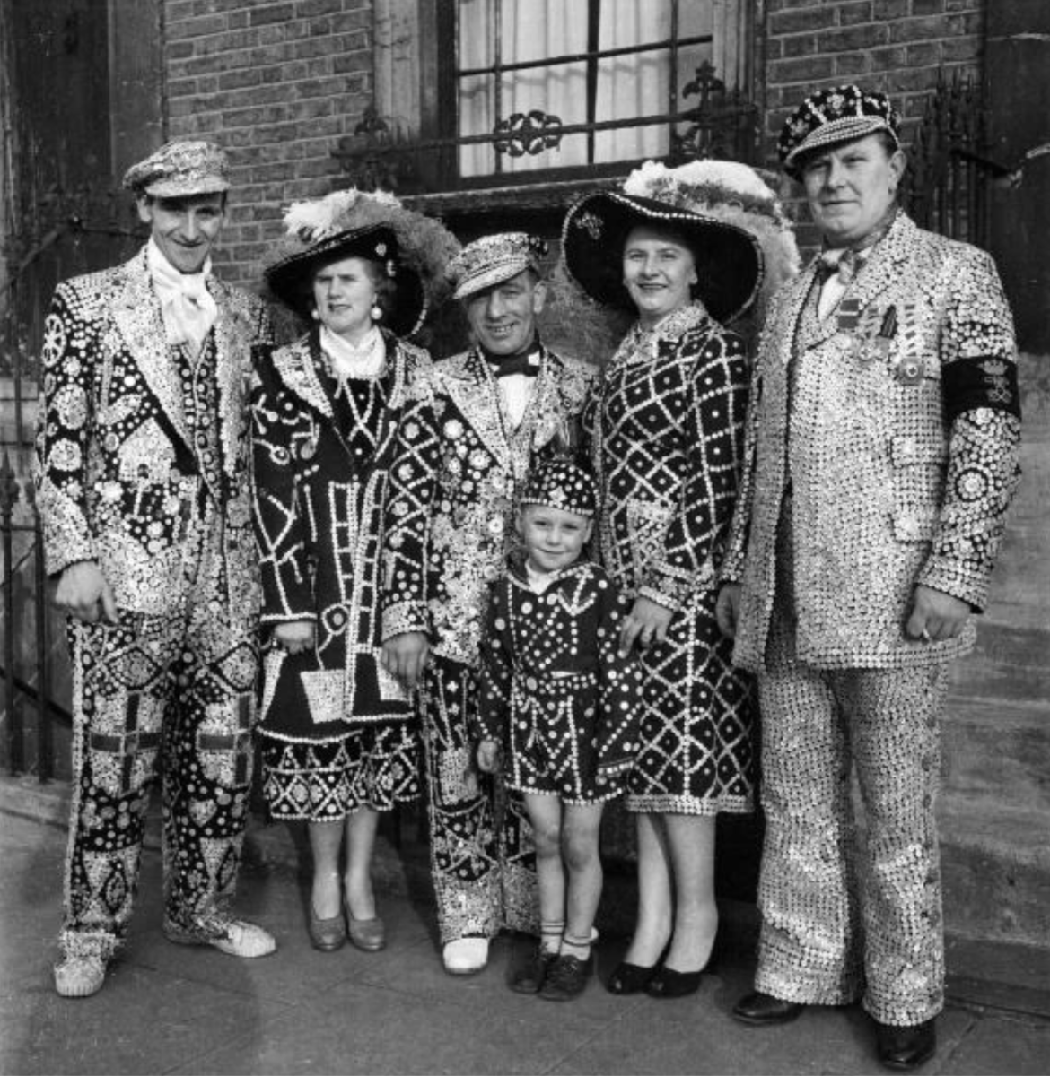 London Pearlies - East End Photography (c) Getty Images