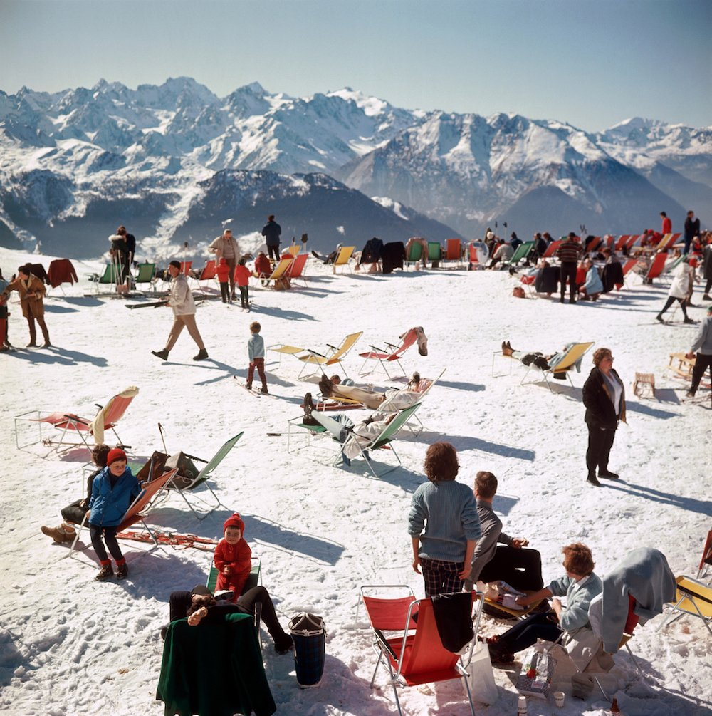 Verbier Vacation Slim Aarons
