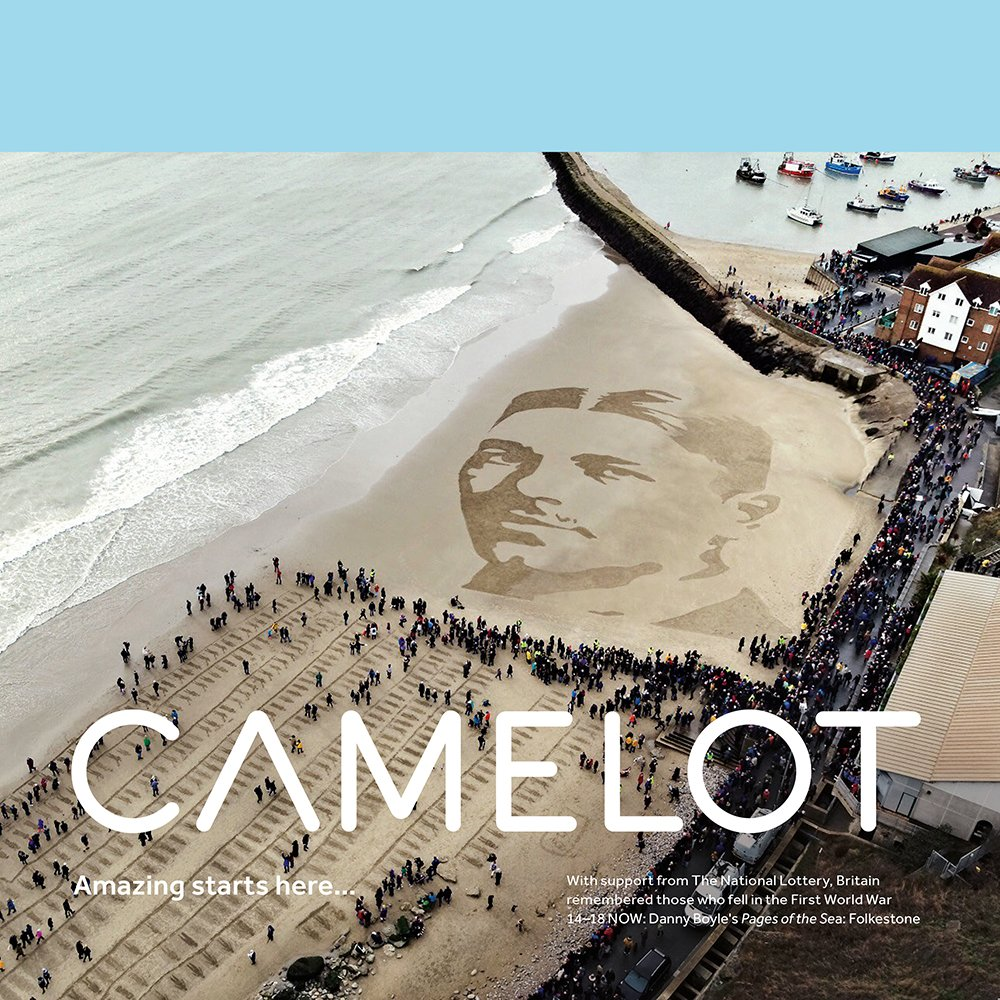 Camelot 2019 annual report by Spinach Branding https://spinachbranding.com/