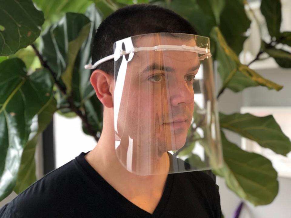 BIG's 3D-printed COVID-19 medical face shields (c) BIG-Bjarke Ingels Group