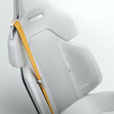 Swedish car brand Polestar's recycled cork vinyl material