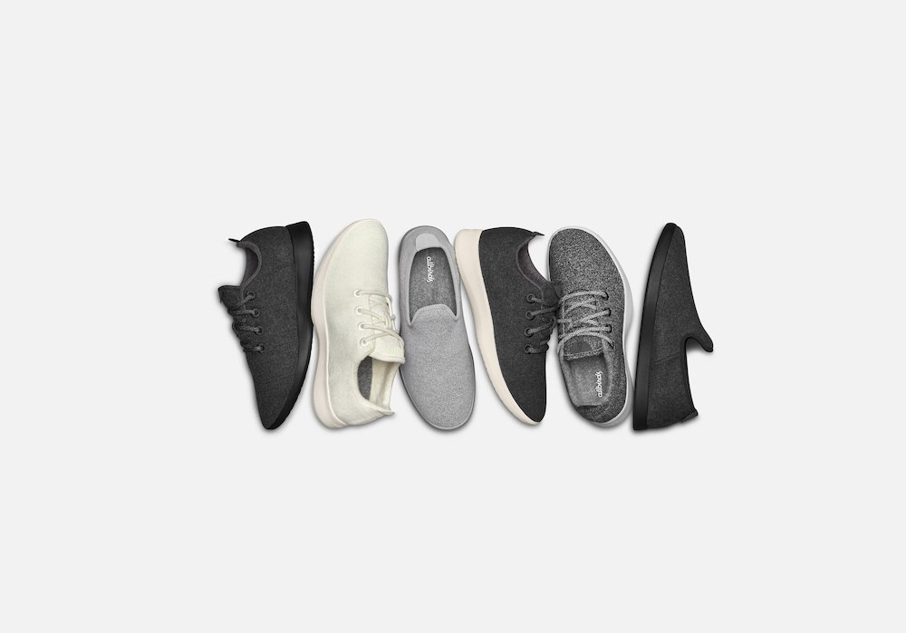 Allbirds sustainable product collection