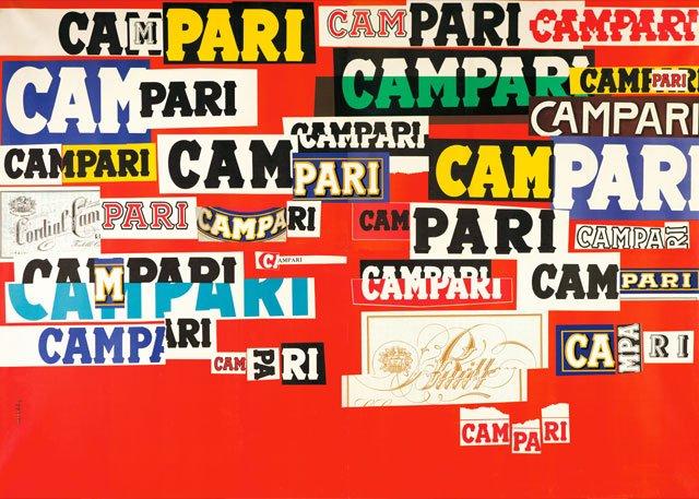 Campari artwork by Bruno Munari 1964