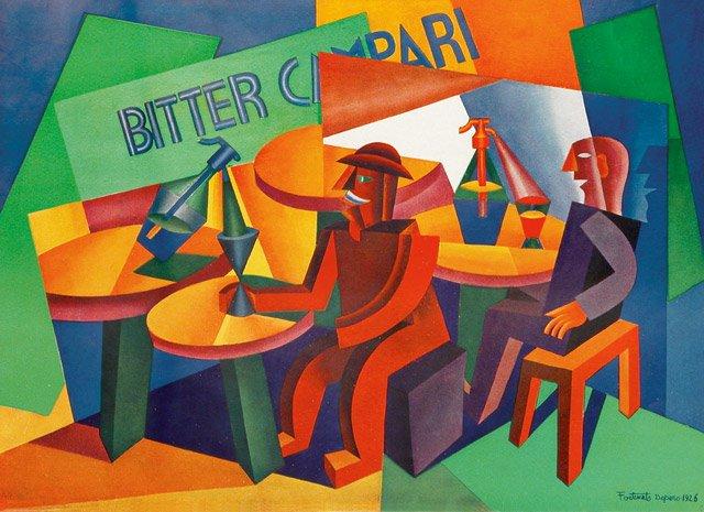 Campari artwork Fortunato Depero 1926