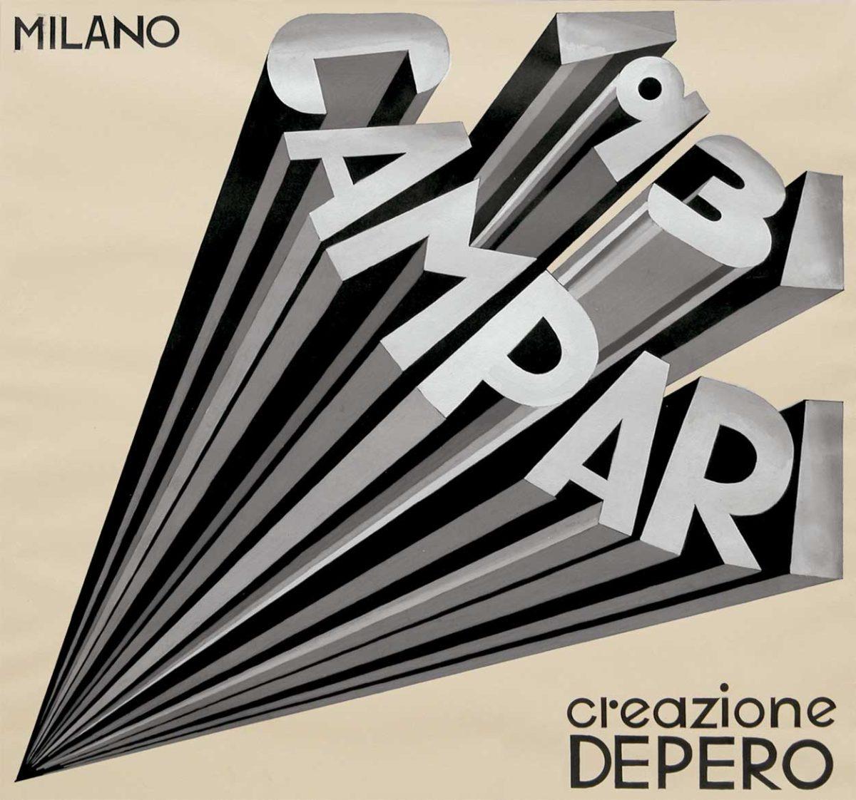 Campari artwork Fortunato Depero 1931