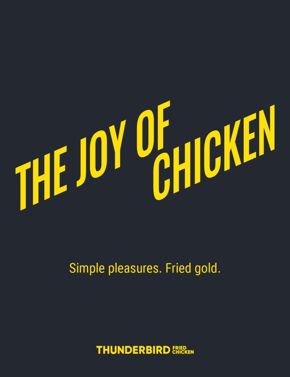 Spinach creates a new brand identity for Thunderbird Fried Chicken
