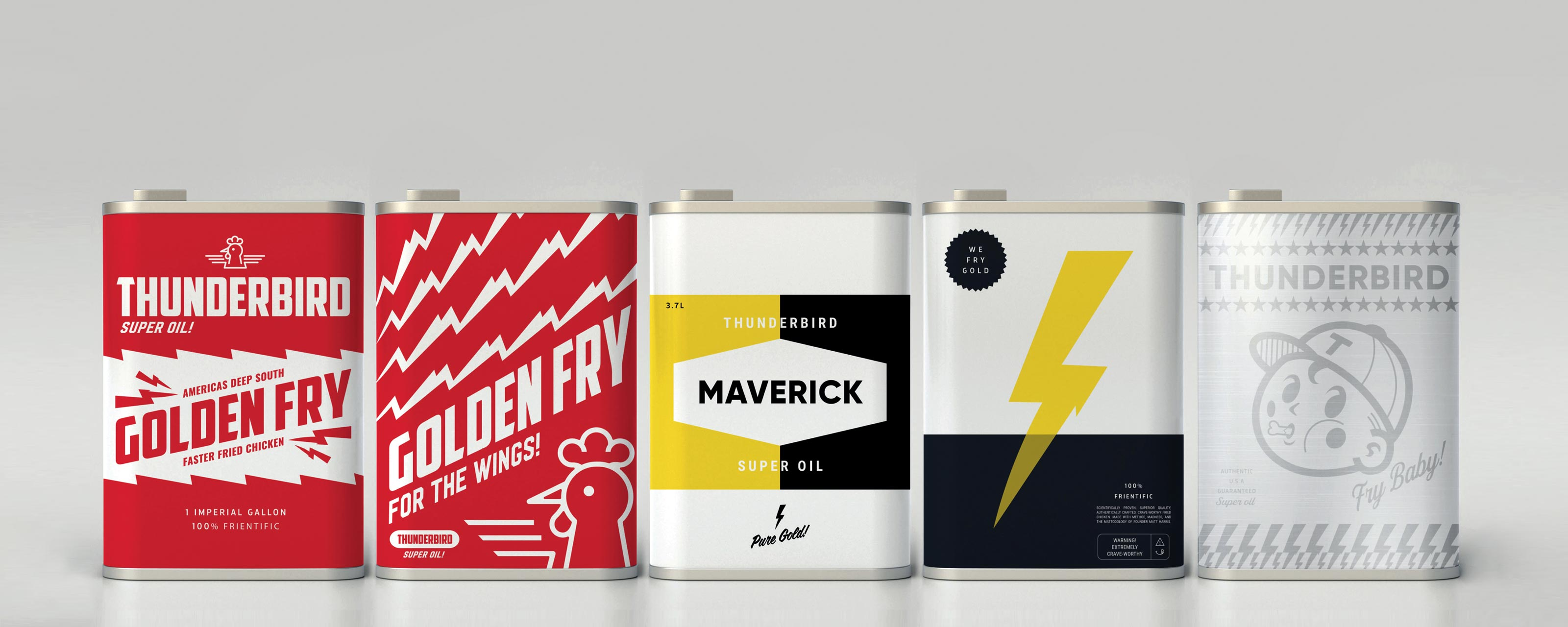 Cool food branding agency