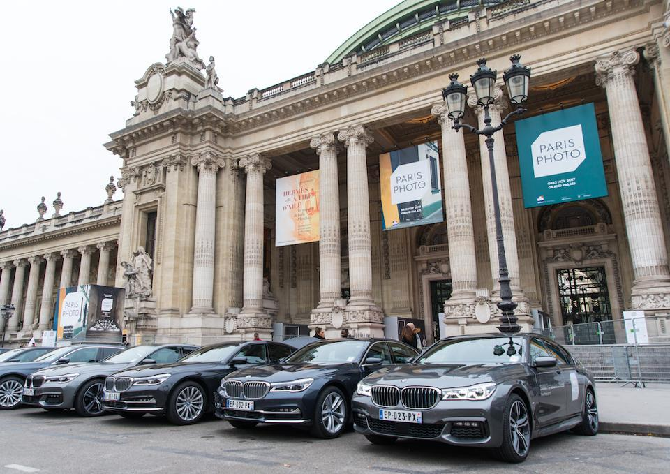 BMW is one of the sponsors of the annual Paris Photo
