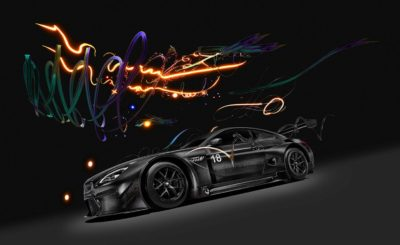 The BMW Art Car #18 by Chinese multimedia artist Cao Fei explores AR and VR