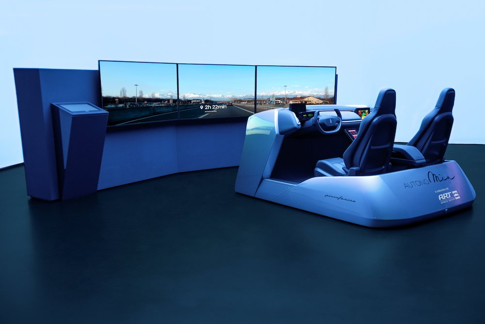 AuotonoMIA is a UX demonstrator by Pininfarina