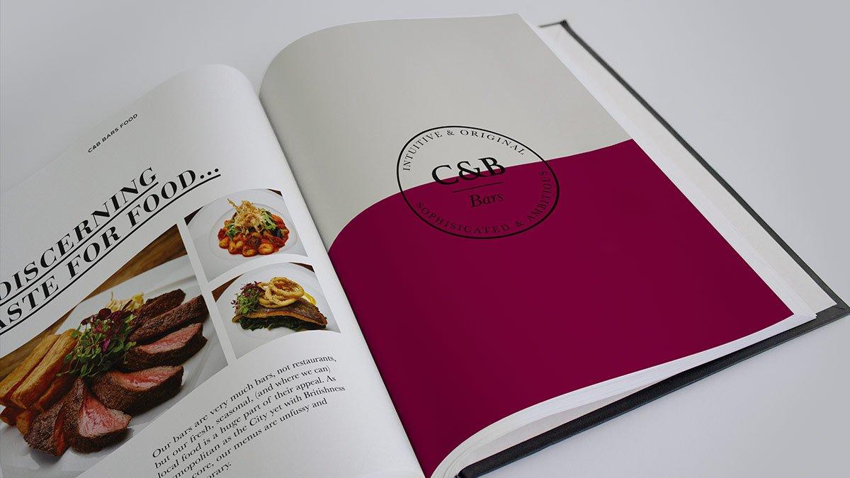 Corney & Barrow brand book by Spinachbranding.com