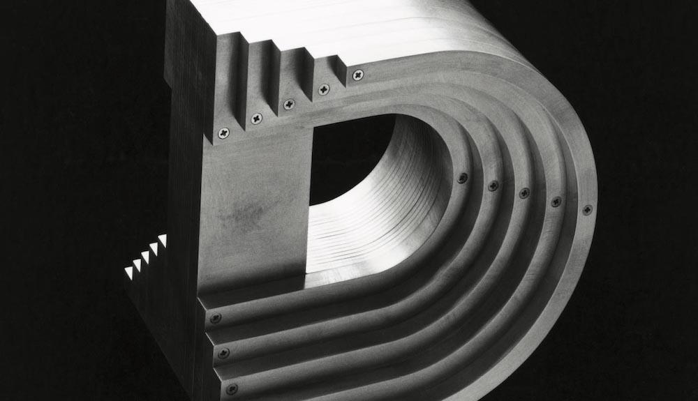 Aluminium Alphabet D, 1983 © Takenobu Igarashi