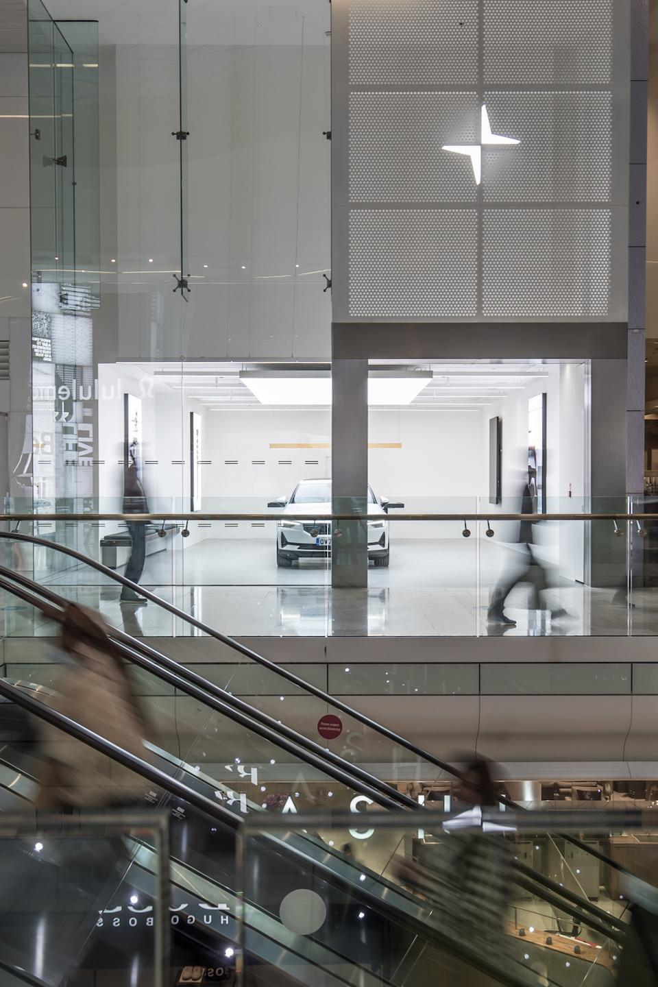 Polestar Space, west London Westfield shopping centre