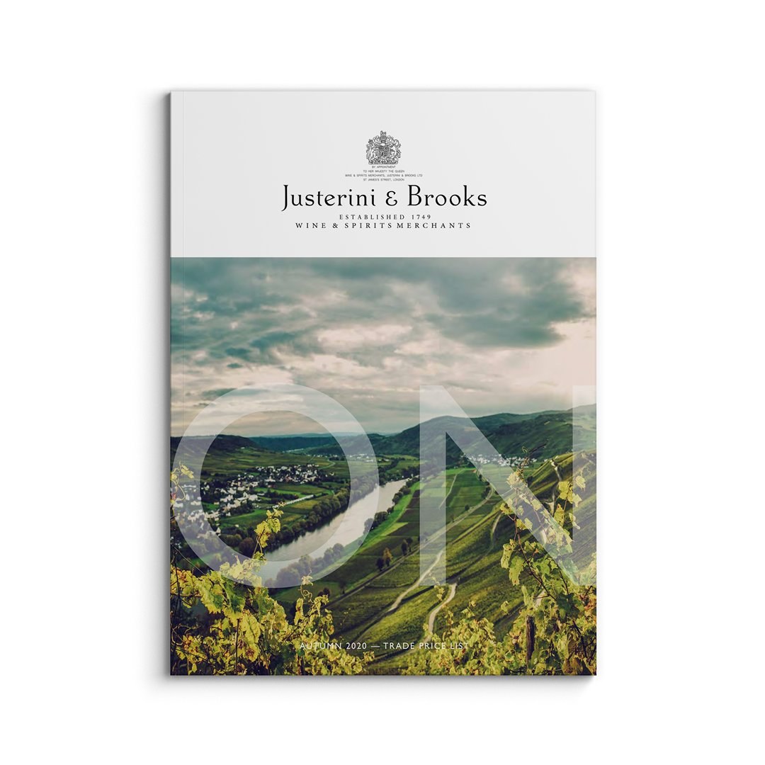Justerini & Brooks content publishing by © Spinach Branding