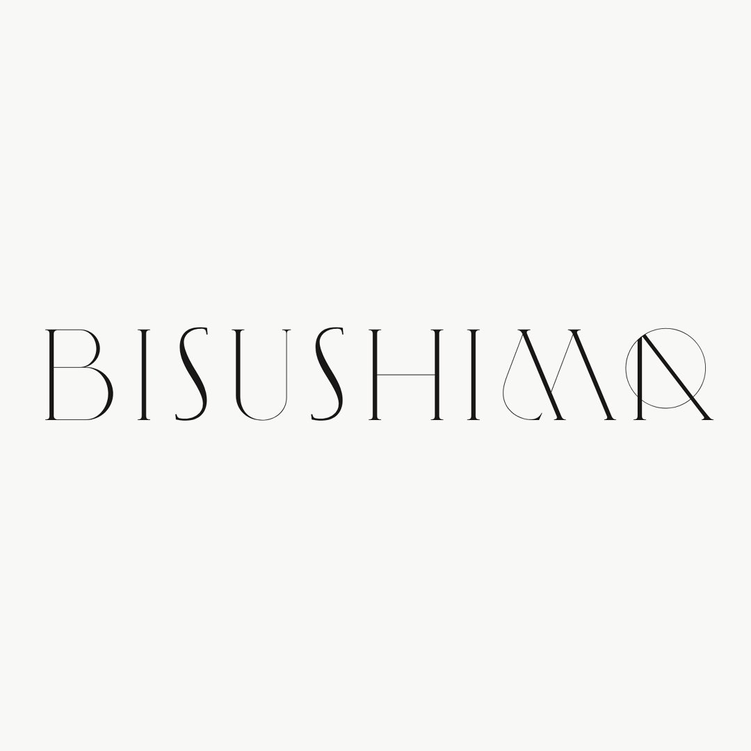 Bisushima brand name and brand creation by © Spinach Branding