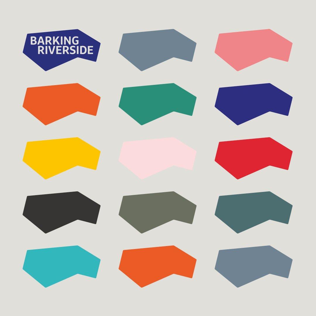 Barking Riverside branding by © Spinach Branding