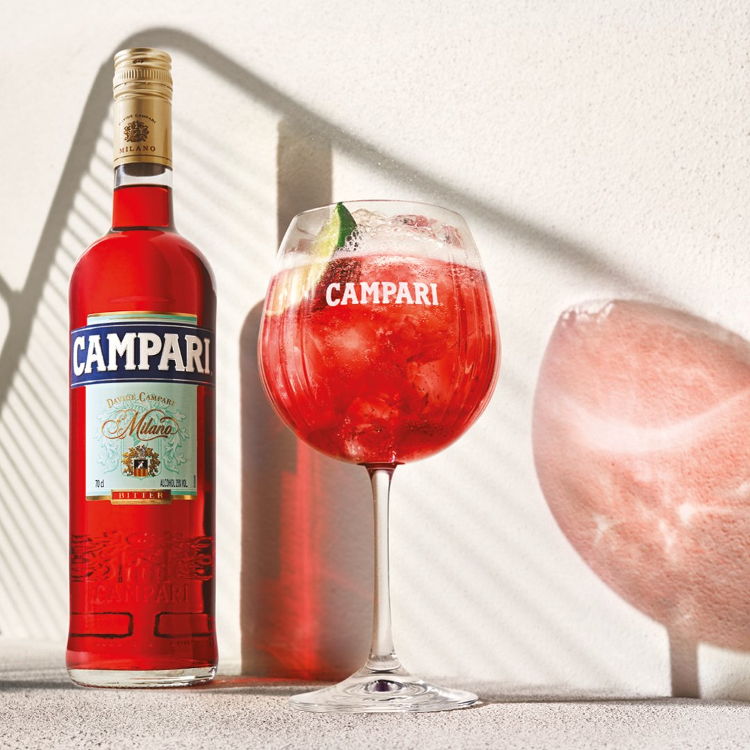 Campari 2020 advertising campaign by © Spinach Branding