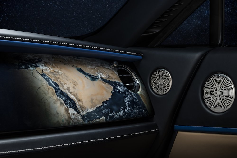 Wraith 'Inspired By Earth' takes its design cues from the entire Solar System, and our own planet, as seen from space.