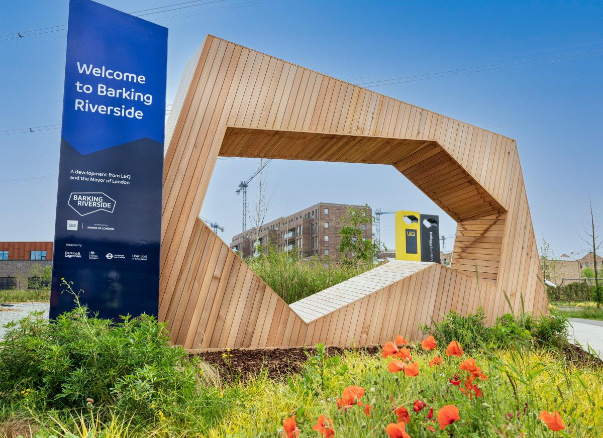 The Wilds Barking Riverside. Images © Jimmy Lee Photography for BRL